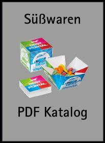 Süßwaren mit Logo - Katalog
